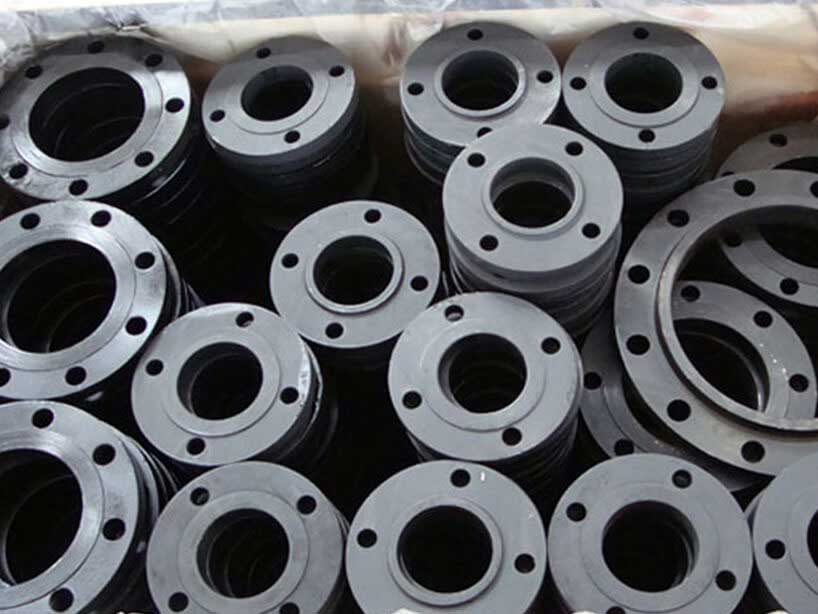 Carbon Steel ASTM A350 LF2 Flanges Manufacturer in Mumbai India