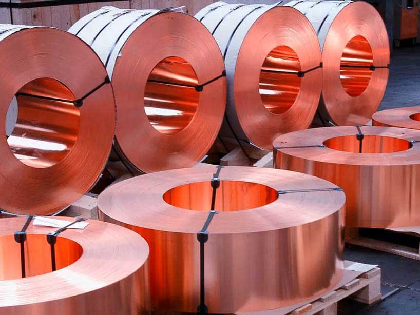 Copper Nickel 90-10 Sheets/Plates/Coil Dealer in Mumbai India