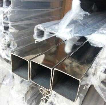 Stainless Steel 304/304L Seamless Square Pipes