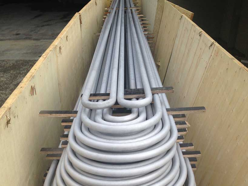 Stainless Steel 304 / 304L Heat Exchanger Tubes Supplier in Mumbai India