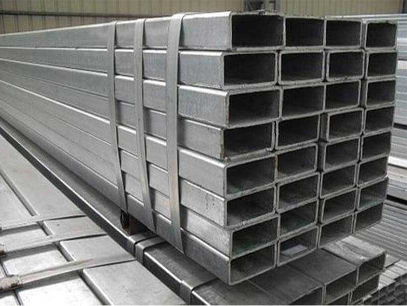 Stainless Steel 316TI Rectangle Pipes/Tubes Manufacturer in Mumbai India