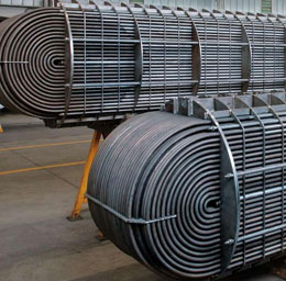 Stainless Steel 321 Welded Heat Exchanger Pipes